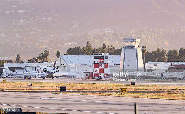 Van Nuys Airport on December 03 2016 in Van Nuys California