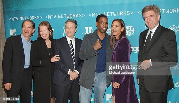 Van Toffler MTV Networks Group President Judy McGrath MTV Networks Chairman and CEO Jon Stewart Chris Rock Halle Berry and Tom Freston Viacom...