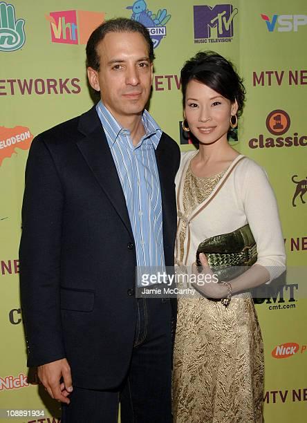 Van Toffler,President, MTV Networks Music/Films/Logo Group and Lucy Liu
