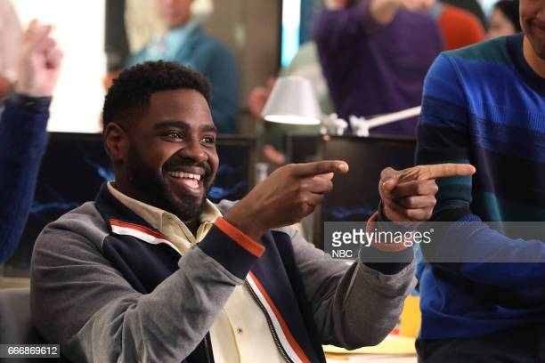POWERLESS Van V Emily Dawn Of Justice Episode 110 Pictured Ron Funches as Ron
