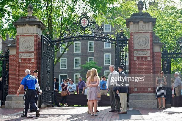 Van Wickle Gates of Brown University