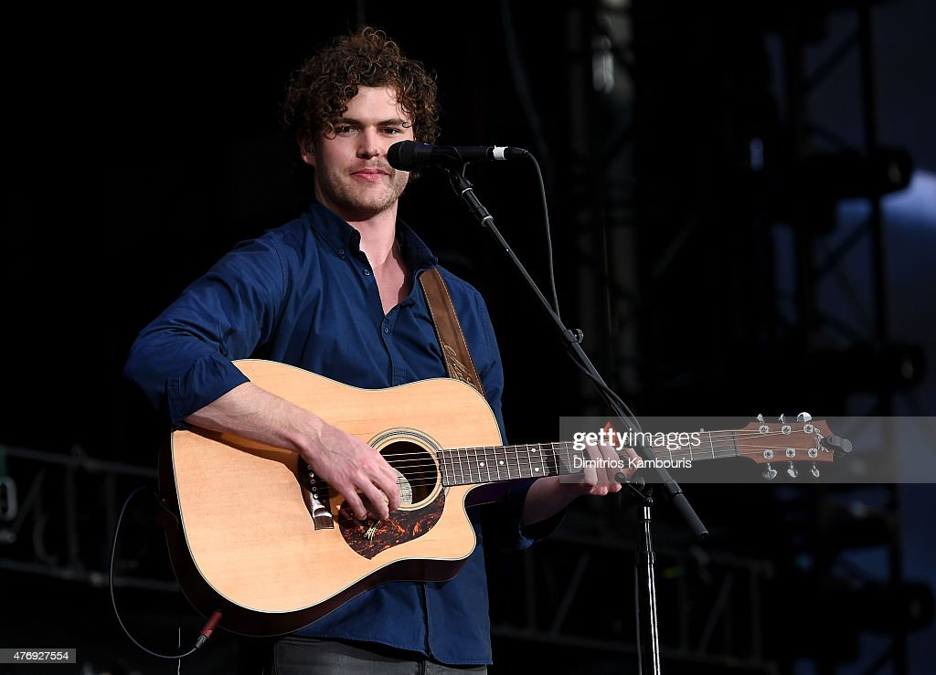 Vance Joy opens for Taylor Swift onstage during The 1989 World Tour on June 12, 2015 at Lincoln Financial Field in Philadelphia, Pennsylvania.