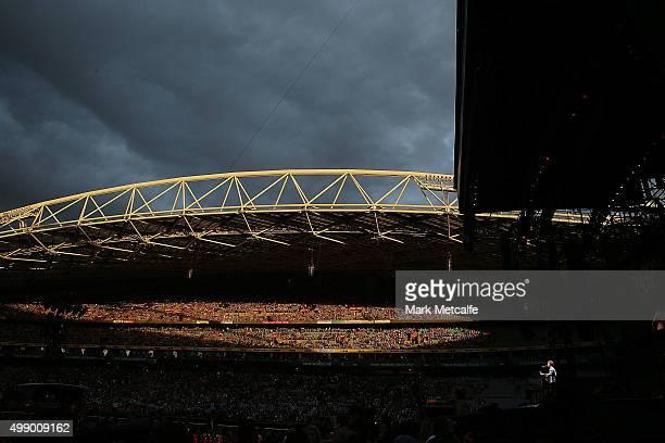 Vance Joy performs at ANZ Stadium on November 28 2015 in Sydney Australia