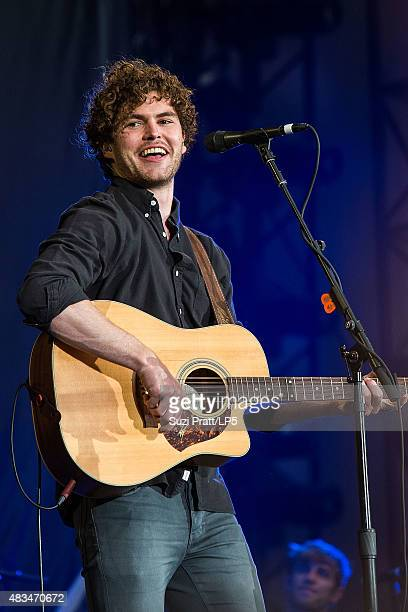 Vance Joy performs at CenturyLink Field on August 8 2015 in Seattle Washington