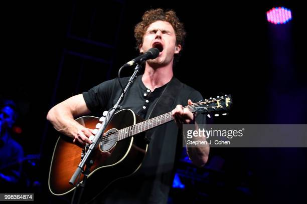 Vance Joy performs at the 2018 Forecastle Music Festival on July 13, 2018 in Louisville, Kentucky.