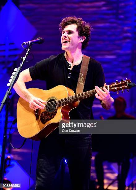 Vance Joy performs live on stage at O2 Academy Brixton on March 7, 2018 in London, England.