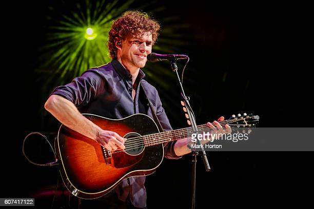 Vance Joy performs on Day 3 of the CityFolk Festival at Lansdowne Park on September 17 2016 in Ottawa Canada