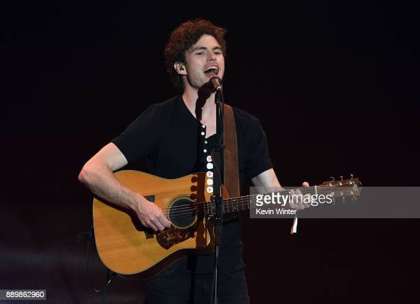 Vance Joy performs onstage during KROQ Almost Acoustic Christmas 2017 at The Forum on December 10 2017 in Inglewood California