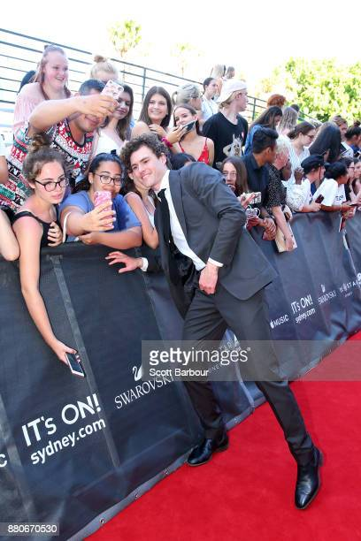 Vance Joy poses with fans ahead of the 31st Annual ARIA Awards 2017 at The Star on November 28 2017 in Sydney Australia