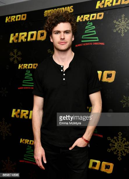 Vance Joy speaks during an interview at KROQ Almost Acoustic Christmas 2017 at The Forum on December 10 2017 in Inglewood California