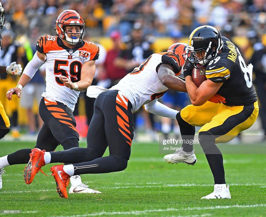 Cincinnati Bengals v Pittsburgh Steelers : Photo d'actualité