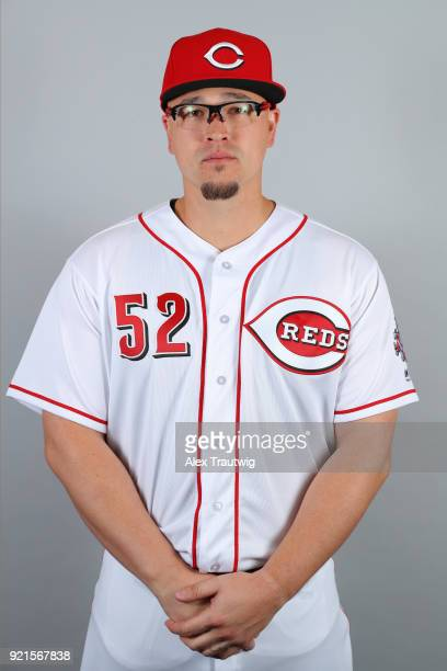 Vance Worley of the Cincinnati Reds poses during Photo Day on Tuesday February 20 2018 at Goodyear Ballpark in Goodyear Arizona