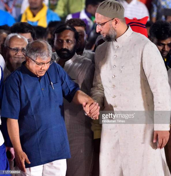 Vanchit Bahujan Aghadi headed by Prakash Ambedkar with its ally Asaduddin Owaisiled All India MajliseIttehadulMuslimeen held a rally for the upcoming...