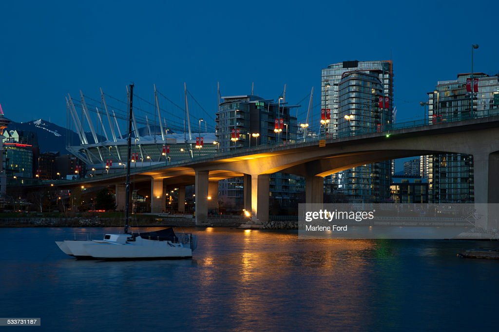 Vancouver at night : Foto stock