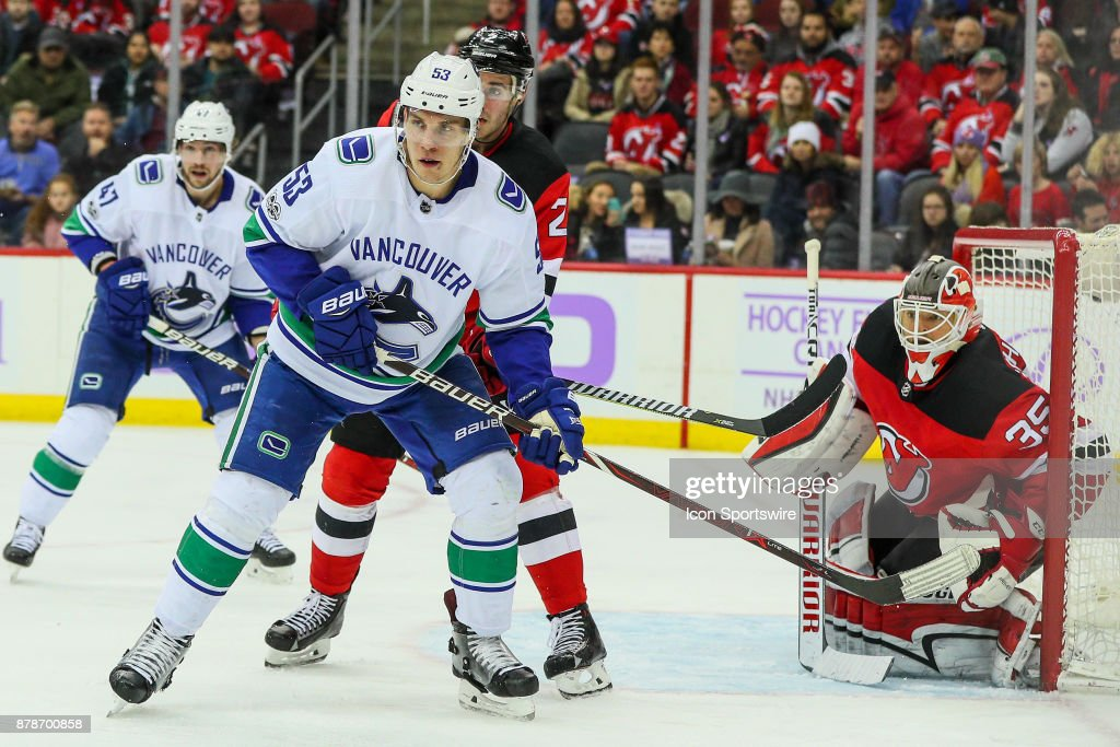 Vancouver Canucks Center Bo Horvat During The National Hockey League