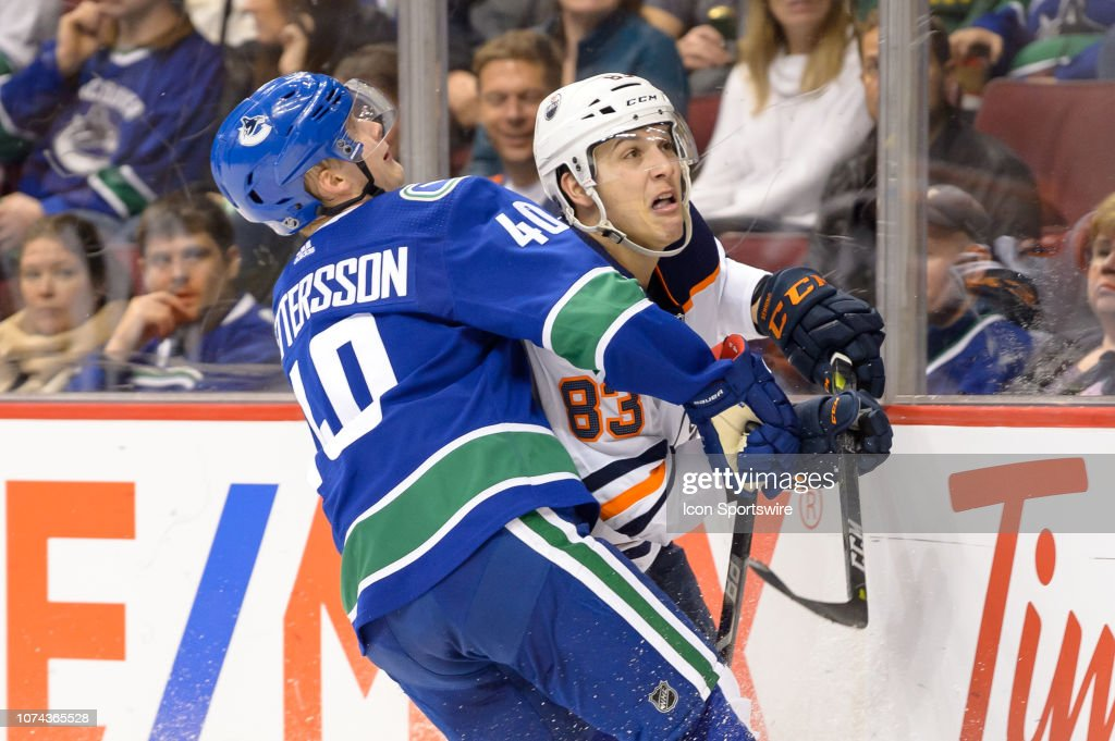NHL: DEC 16 Oilers at Canucks : News Photo