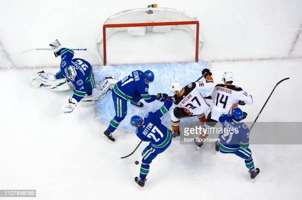 Vancouver Canucks Goaltender Jacob Markstrom Defenseman Troy Stecher Defenseman Ben Hutton Left Wing Loui Eriksson Anaheim Ducks Left Wing Nick...