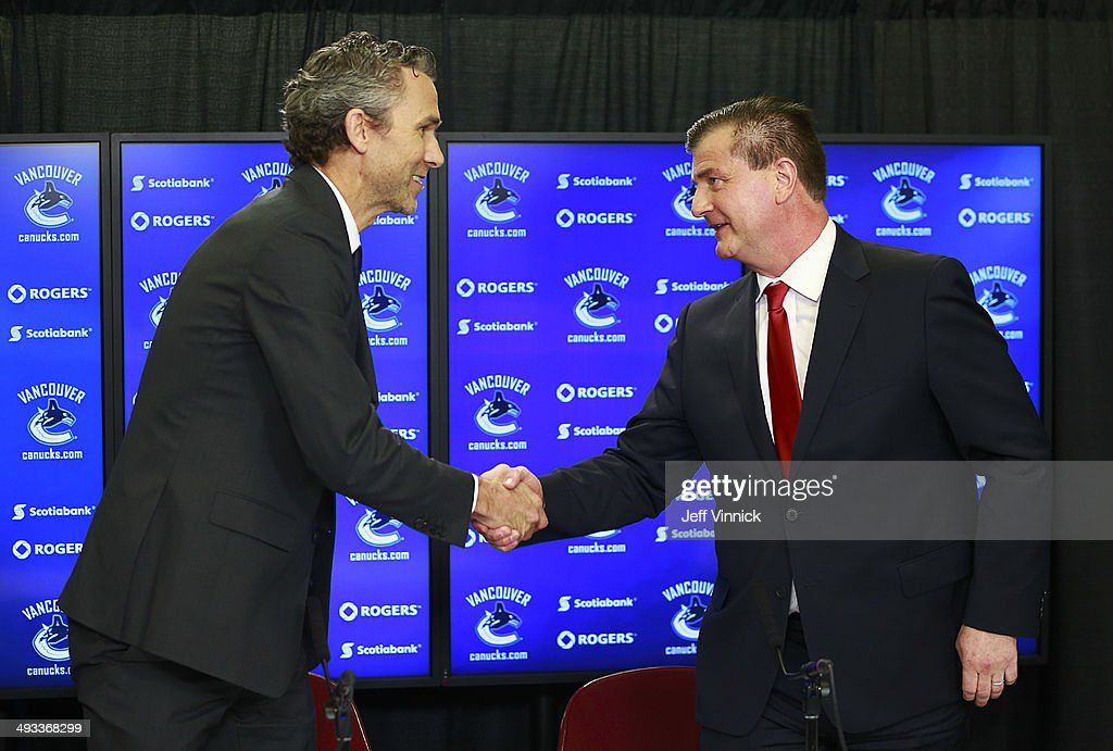 Vancouver Canucks announce Jim Benning as General Manager : Nachrichtenfoto