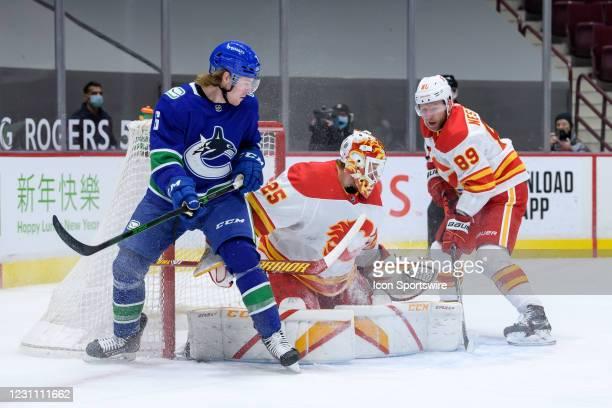 Jacob Markstrom Vancouver Canucks Player Swingman Jersey
