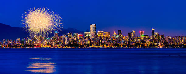 Vancouver Celebration of Light Fireworks 2013