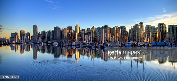 Vancouver: Docked Boats of Coal Harbor