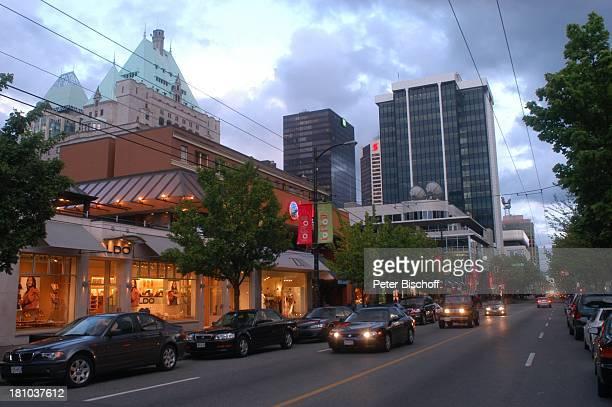 Vancouver, Innenstadt, City, Kanada, Canada, Nordamerika, Reise, Verkehr, ,