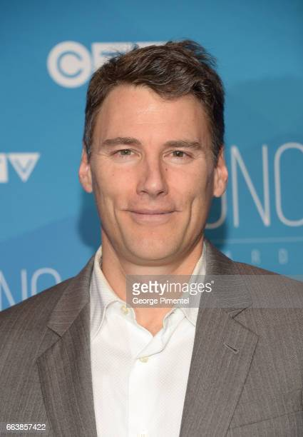 Vancouver Mayor Gregor Robertson arrives at the 2017 Juno Awards at Canadian Tire Centre on April 2 2017 in Ottawa Canada