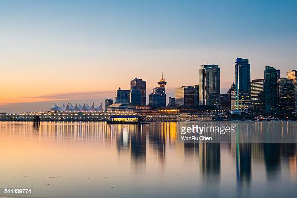 Vancouver skyline at Stanley Park