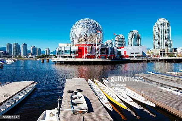 vancouver skyline canada - british columbia stock pictures, royalty-free photos & images