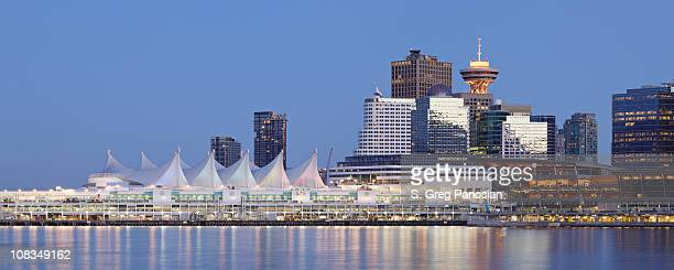 vancouver skyline - british columbia stock pictures, royalty-free photos & images