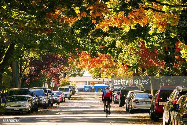 Vancouver Street in Autumn