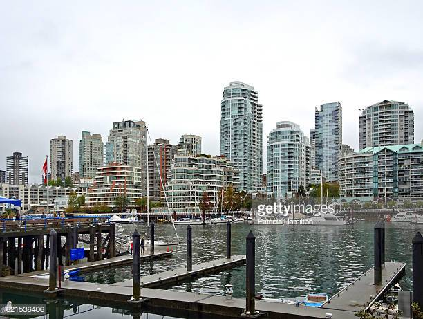 Vancouver waterfront from Granville Island
