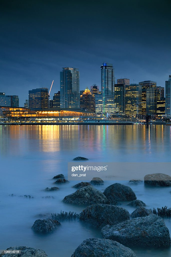 Vancouver Waterfront : Stock Photo