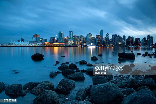vancouver waterfront - stanley park vancouver canada stock photos and pictures