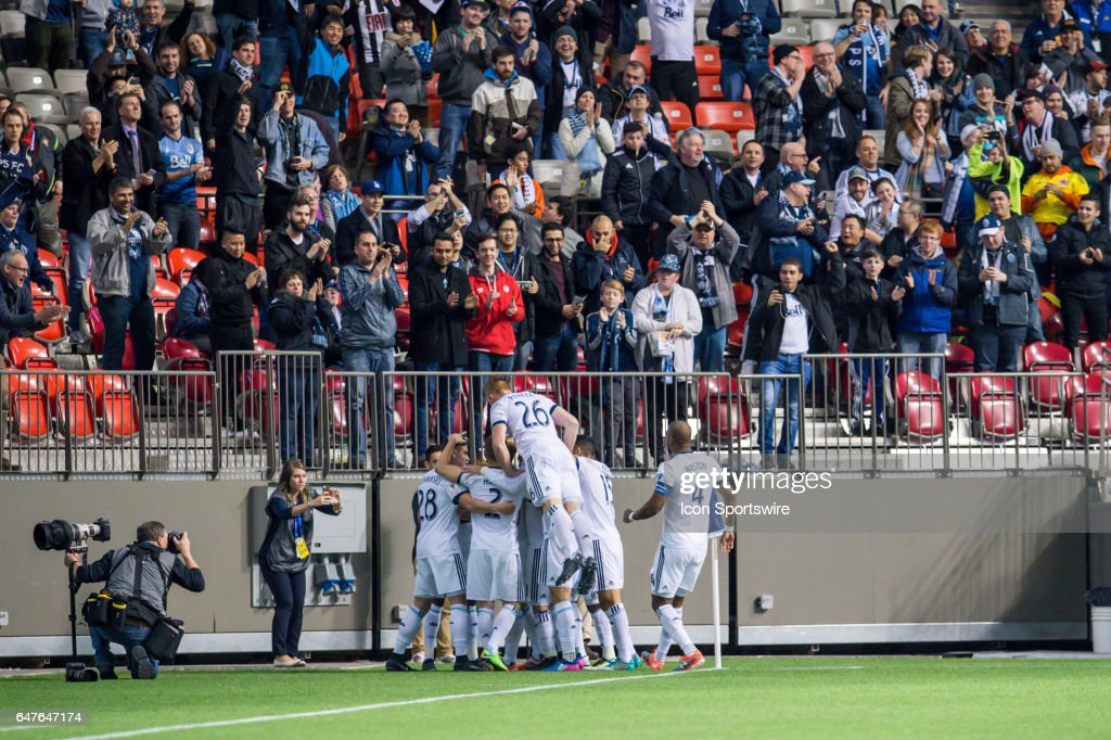 SOCCER: MAR 02 CONCACAF Champions League Quarterfinals - Red Bulls at Whitecaps : ニュース写真