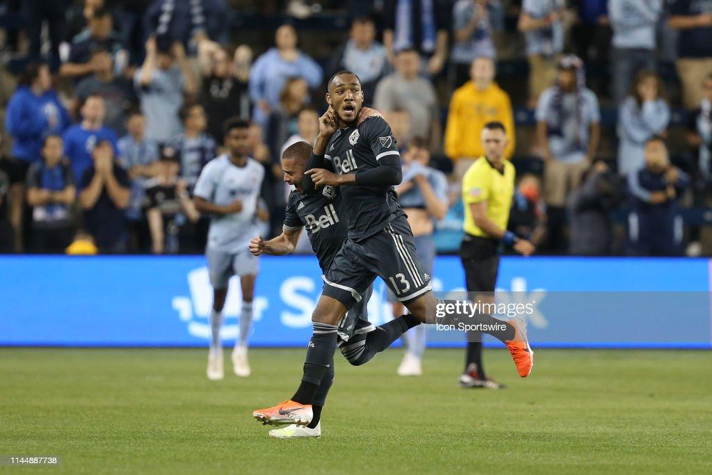 SOCCER: MAY 18 MLS - Vancouver Whitecaps at Sporting Kansas City : News Photo