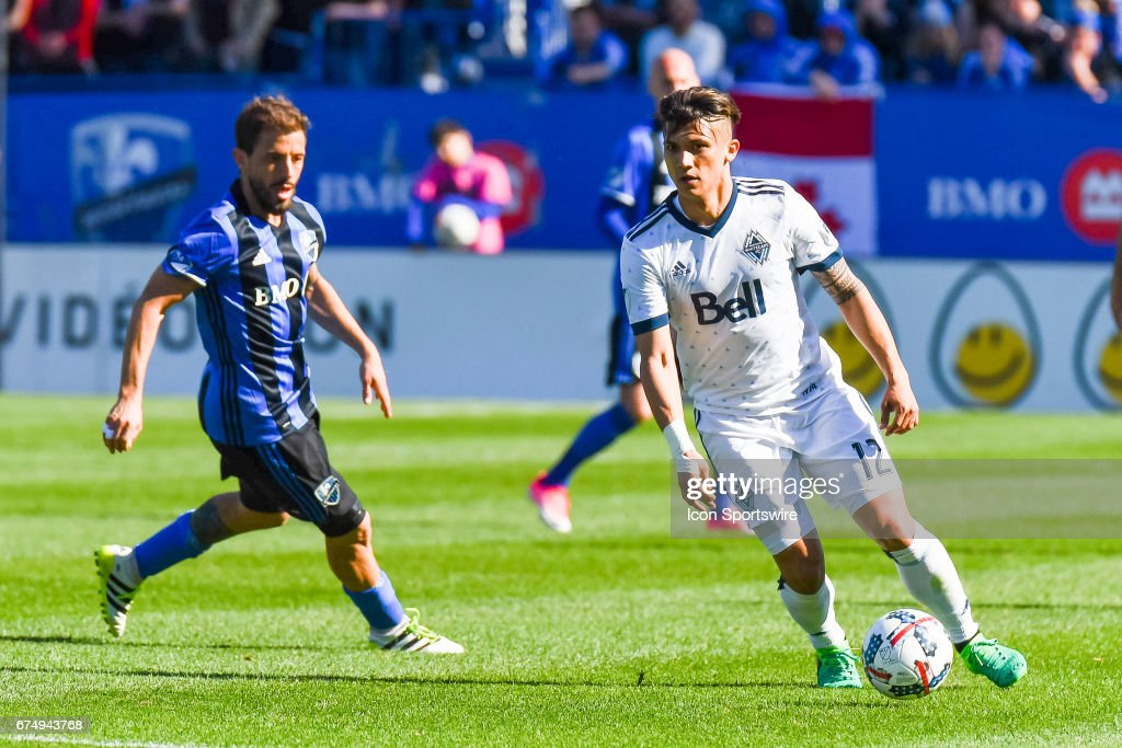 SOCCER: APR 29 MLS - Vancouver Whitecaps FC at Montreal Impact : News Photo