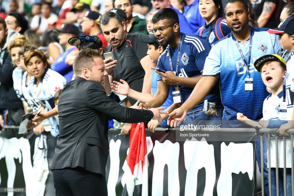 SOCCER: MAY 10 MLS - Portland Timbers at Vancouver Whitecaps : News Photo