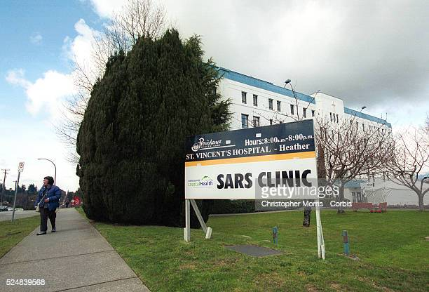 Vancouver's newly created SARS clinic Officials say they want to cap the spread of the disease in the province where there are three probable and 16...