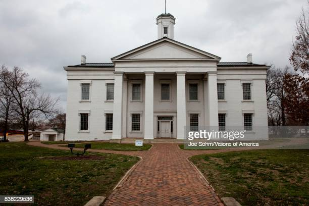 Vandalia Statehouse Illinois first State Capitol 18361839 and home of Abraham Lincoln site