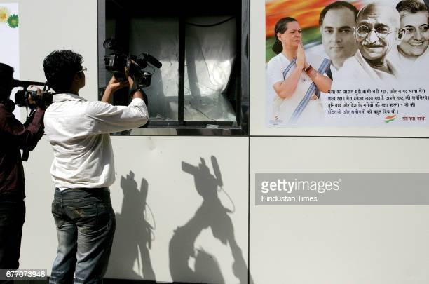Vandalisation Mob Violence RPI activists have ransacked the Congress office in Mumbai protesting the eviction of senior RPI leader former Lok Sabha...