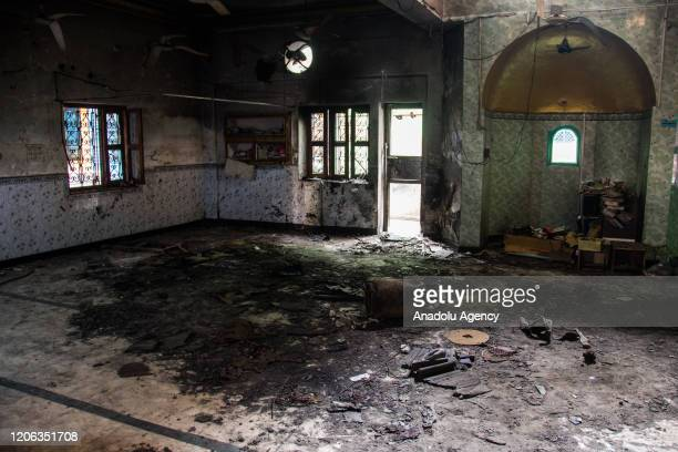 Vandalized Madeena Masjid which was blasted by using gas cylinders in Shiv Vihar now become the haunted colony for muslims, the worst affected...