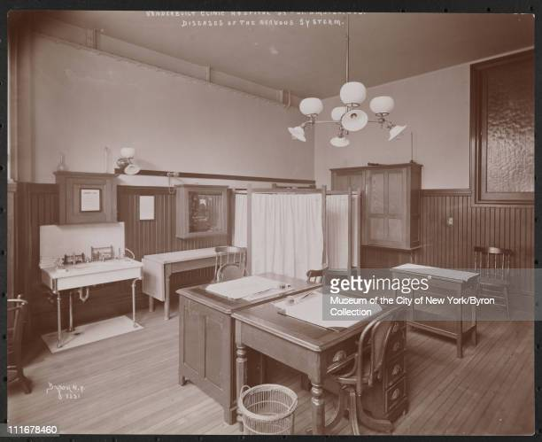 Vanderbilt Clinic Hospital 59th St Amster Ave Diseases of the Nervous System New York New York late 1890s