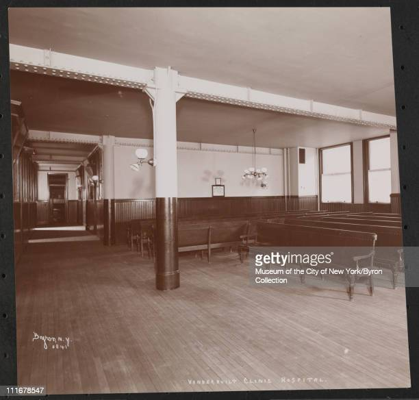 Vanderbilt Clinic Hospital New York New York late 1890s