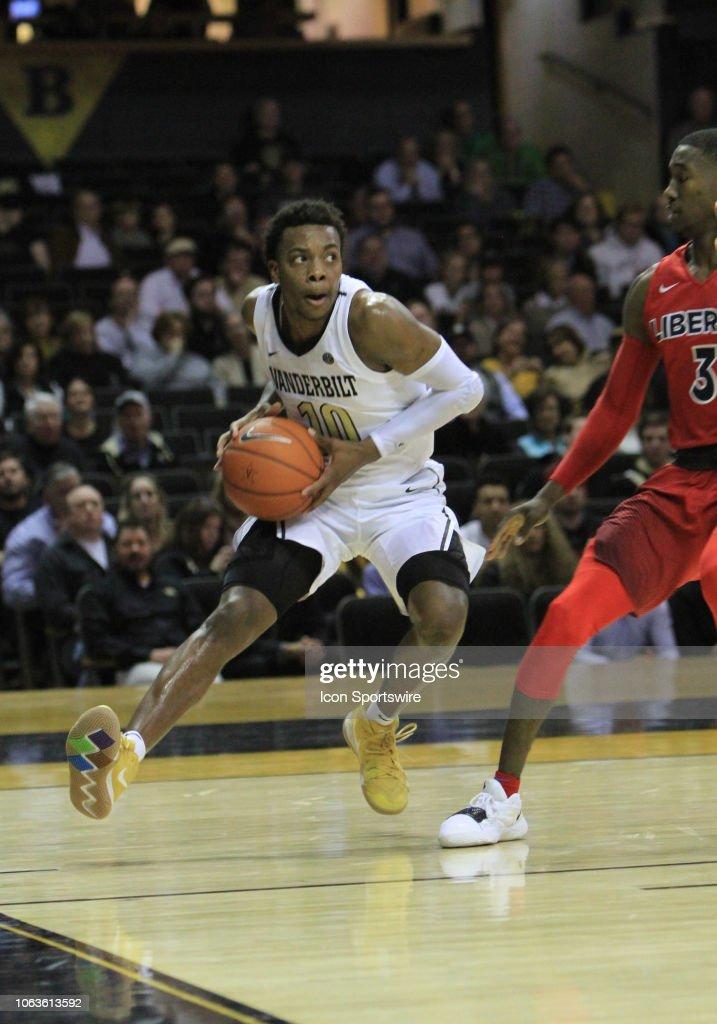 COLLEGE BASKETBALL: NOV 19 Liberty at Vanderbilt : News Photo