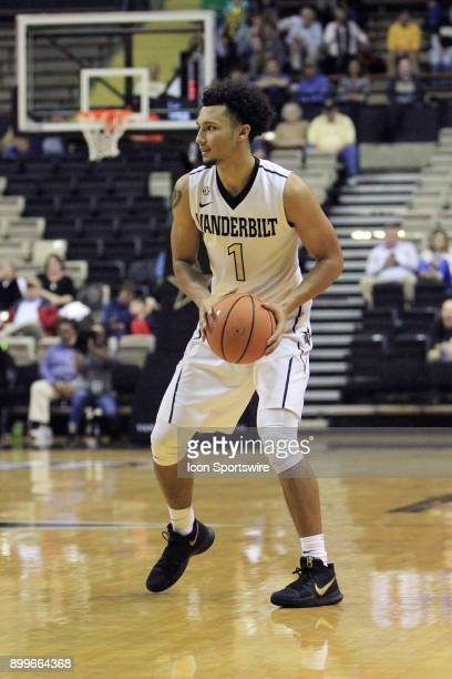 Vanderbilt Commodores guard Payton Willis runs an offensive play in the second half of a nonconference game between the Vanderbilt Commodores and...