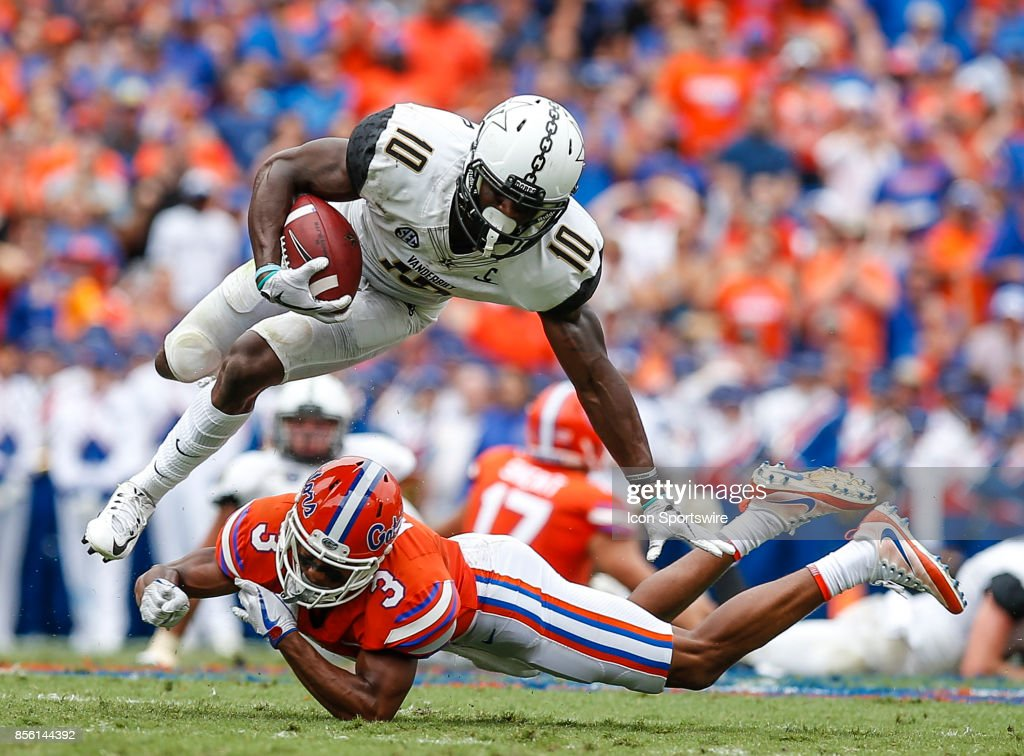 COLLEGE FOOTBALL: SEP 30 Vanderbilt at Florida Pictures | Getty Images
