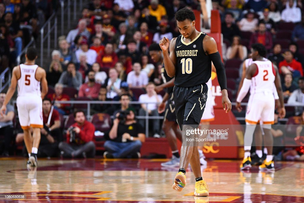 COLLEGE BASKETBALL: NOV 11 Vanderbilt at USC : News Photo
