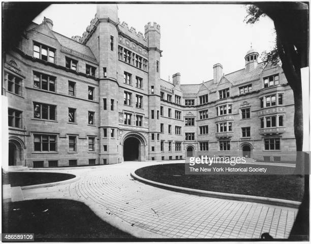 Vanderbilt Hall, Yale University, New Haven, Connecticut, 1895.