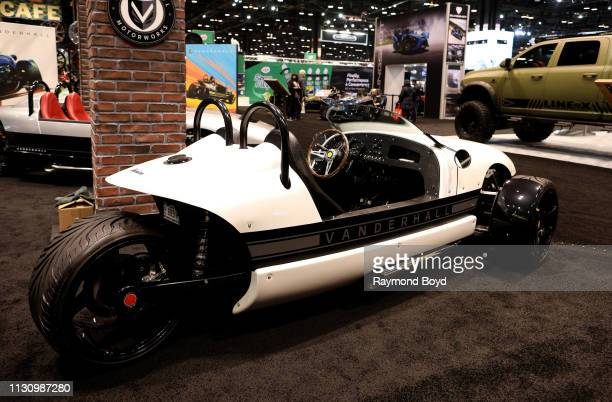 Vanderhall Venice is on display at the 111th Annual Chicago Auto Show at McCormick Place in Chicago, Illinois on February 8, 2019.
